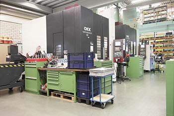 CNC frezen OKKx2
